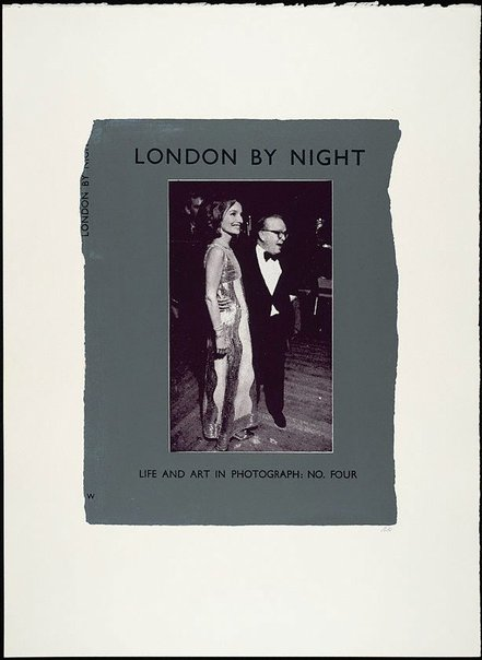 An image of London by night - Life and Art in Photograph; no. four by R.B. Kitaj