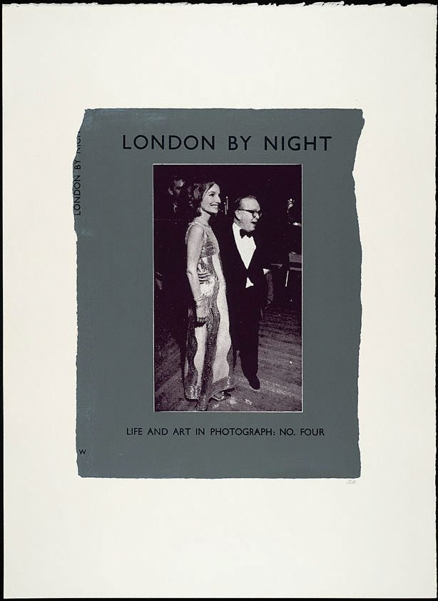 An image of London by night - Life and Art in Photograph; no. four