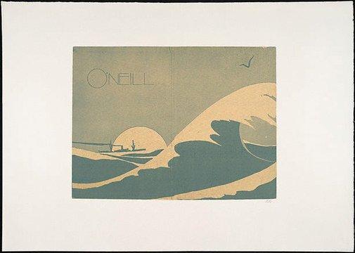 An image of O'Neill by R.B. Kitaj