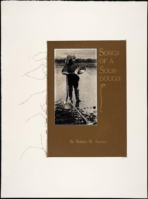 AGNSW collection R.B. Kitaj Songs of a sourdough 1969-1970
