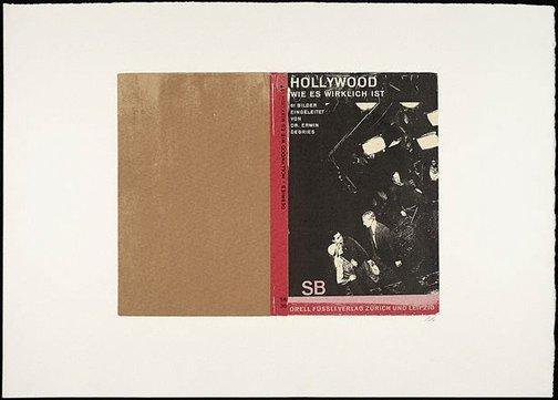 An image of Hollywood, wie es wirklich ist II by R.B. Kitaj