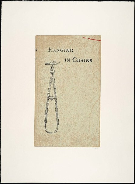 An image of Hanging in chains by R.B. Kitaj