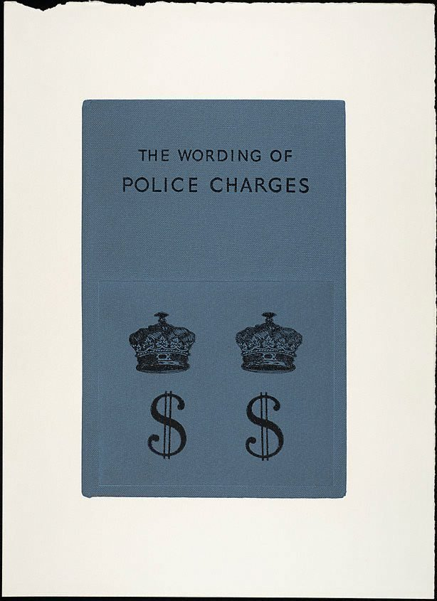 An image of The wording of police charges II