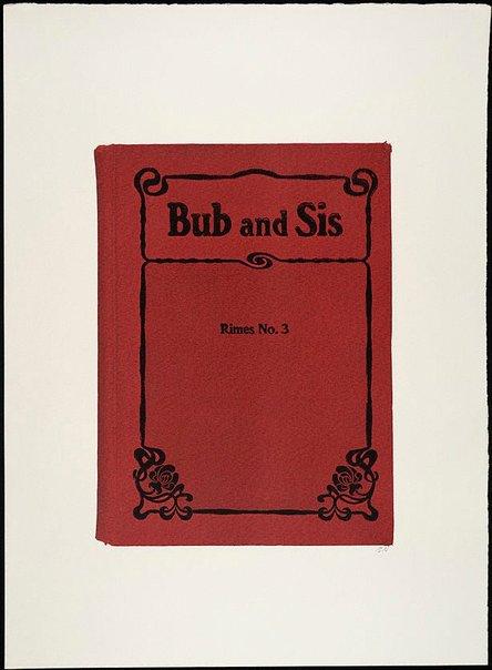 An image of Bub and Sis by R.B. Kitaj