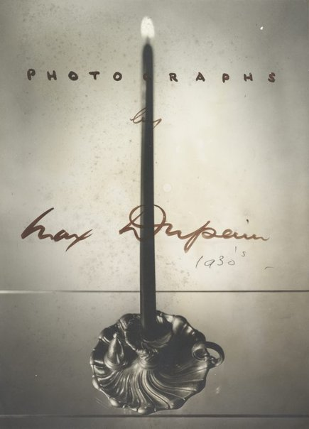 An image of Title page (candle) by Max Dupain