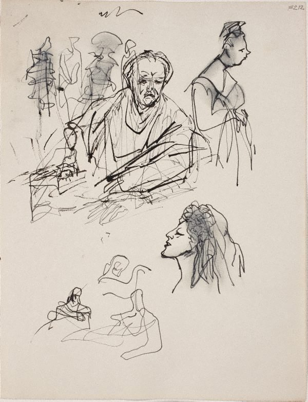 An image of (Figure studies) (Late Sydney Period)