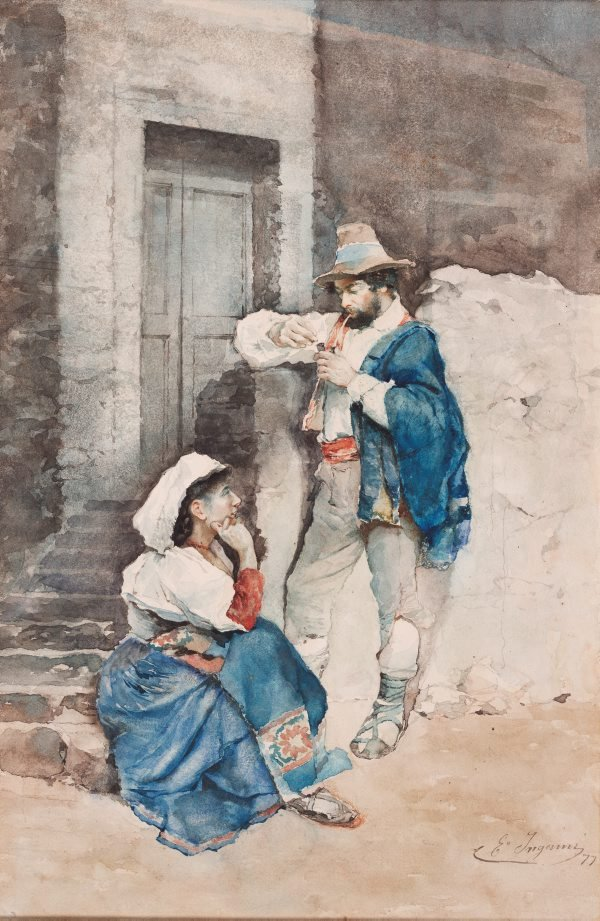 An image of Peasants of Abruzzo