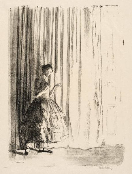 An image of L'Invitation by Ethel Gabain