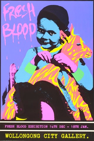 AGNSW collection Redback Graphix, Gregor Cullen Fresh blood 1983