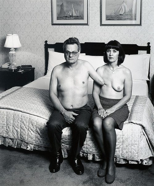 An image of Portrait of M & F by Mike Parr