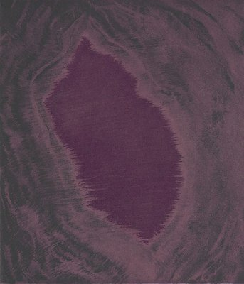 Alternate image of Blackness from her womb by Sir Anish Kapoor