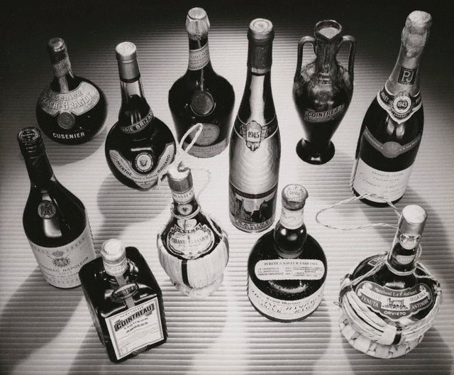 An image of Untitled (collection of liquors)