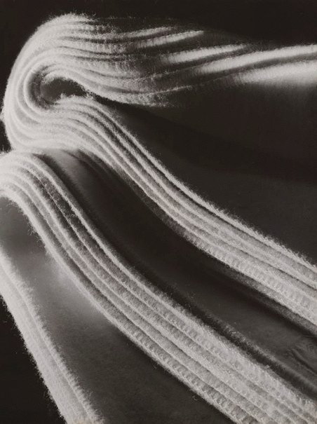 An image of Untitled (folded blankets) by Max Dupain