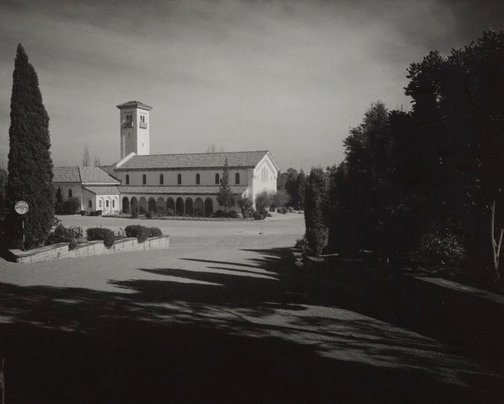 An image of Untitled (crematorium) by Max Dupain