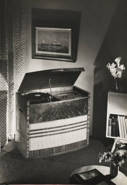 An image of Untitled (record player) by Max Dupain