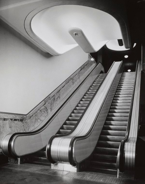 Untitled (escalators), (circa 1951-circa 1952), Photo illustrations 1951-1952 by Max Dupain