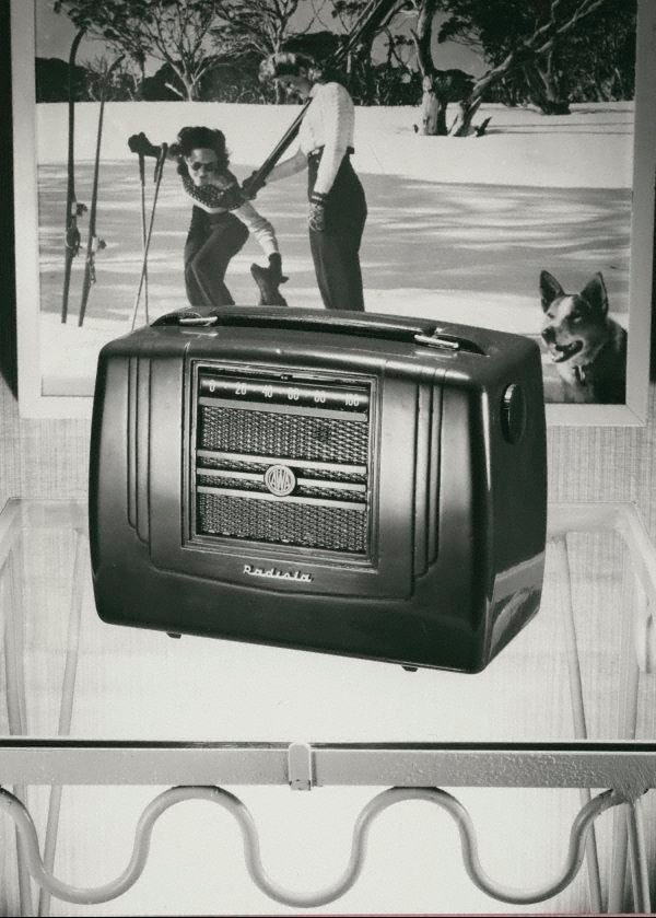 An image of Untitled (AWA wireless with a skiing photo in the background)