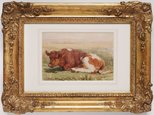 Alternate image of Study of a calf by Henry Brittan Willis