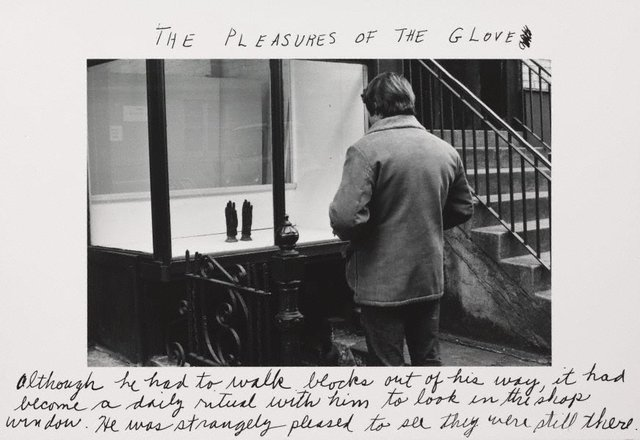An image of The pleasures of the glove