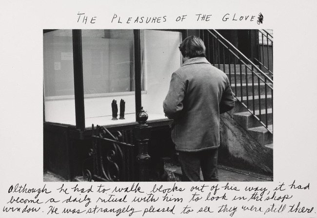 AGNSW collection Duane Michals The pleasures of the glove 1974, printed later