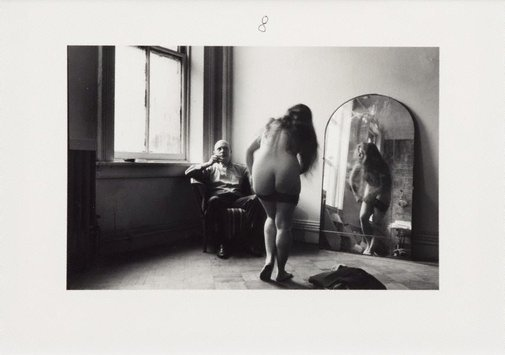 An image of For Balthus by Duane Michals