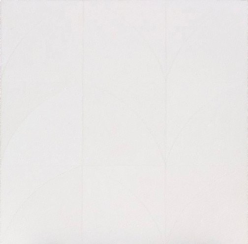 An image of Untitled (white series no 6) by Robert Hunter