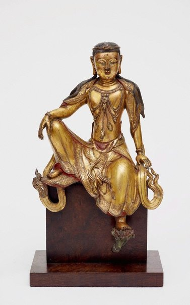 An image of Seated bodhisattva by