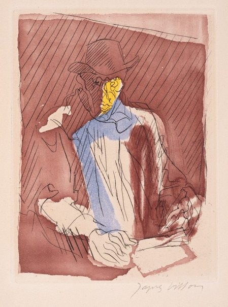 An image of Portrait of the artist by Jacques Villon