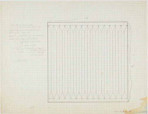 An image of Plan Drawing for Kenen Center; Lockport, NY by Kazuko Miyamoto