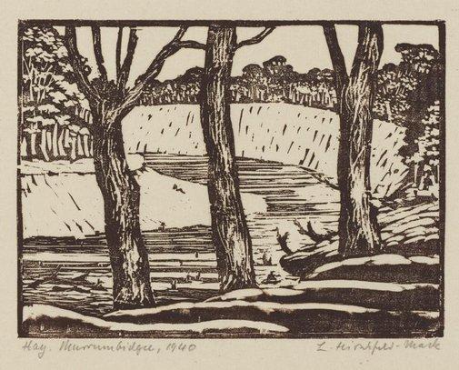 An image of Hay, Murrumbidgee by Ludwig Hirschfeld-Mack