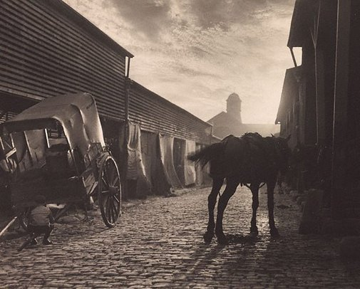An image of Paddy's Market by Harold Cazneaux