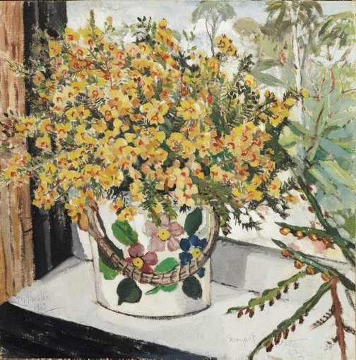 An image of (Australian wild flowers) by Margaret Preston