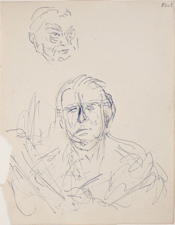 An image of (Head studies) (Late Sydney Period)