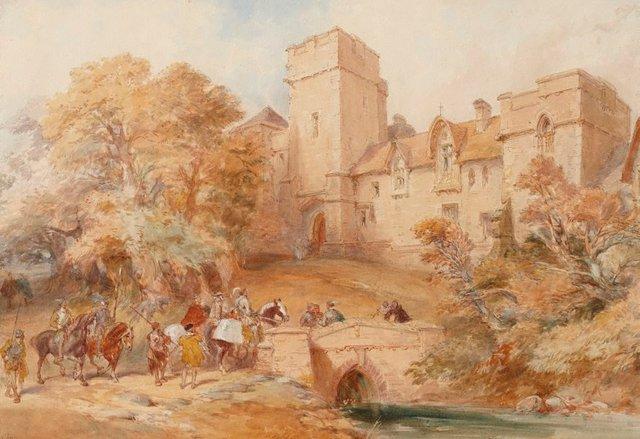 An image of Mediaeval scene