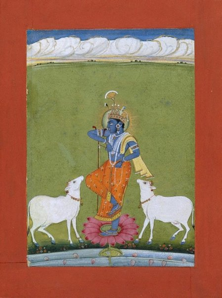 An image of Krishna by