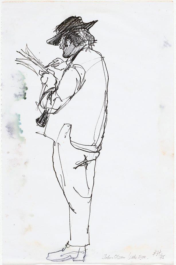 An image of John Olsen, Lake Eyre