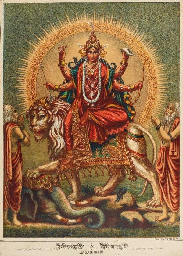 An image of Jagadhatri