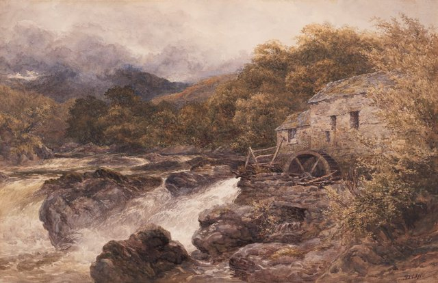 An image of The old mill, Betws-y-Coed