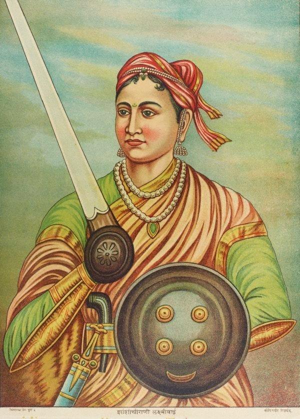 An image of Rani of Jhansi Lakshmi Bhai