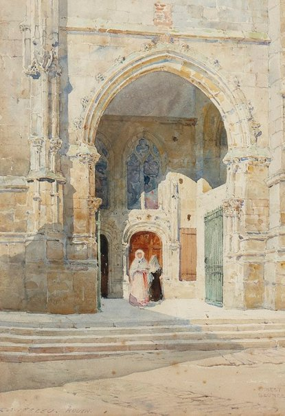 An image of Canteleu (Rouen) by Sir Ernest George