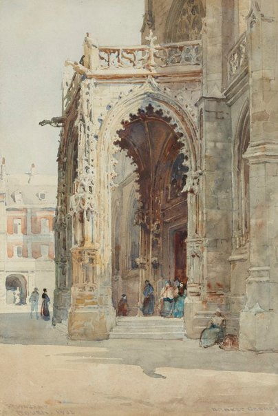 An image of St. Vincent by Sir Ernest George