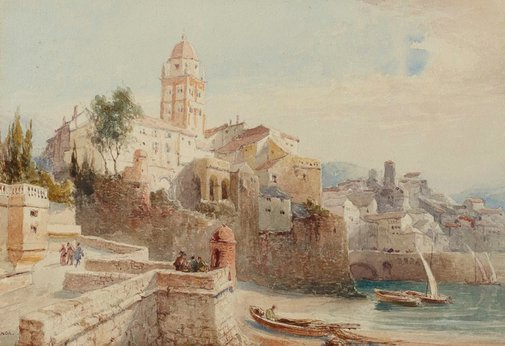 An image of Genoa by Sir Ernest George