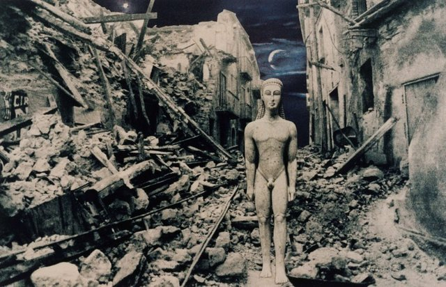 An image of ...From the secret life of statues