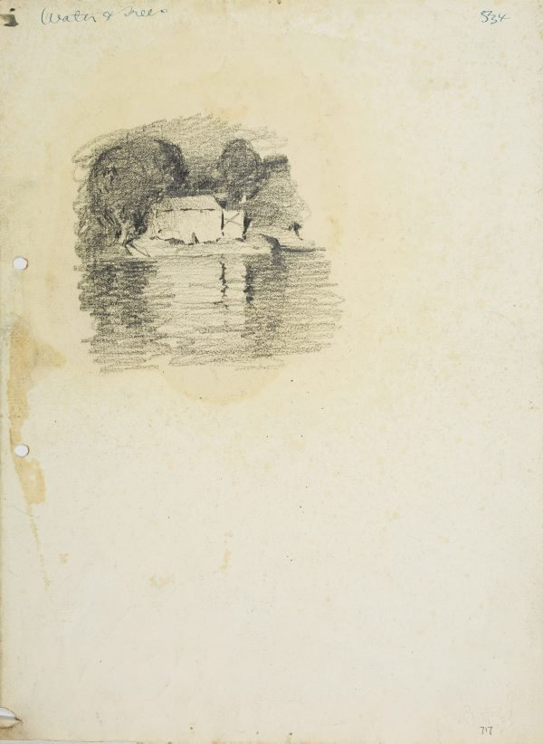An image of Boatshed by the water