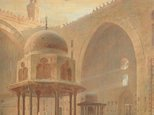 Alternate image of Interior of the Mosque of Sultan Hassan, Cairo by Edward Angelo Goodall