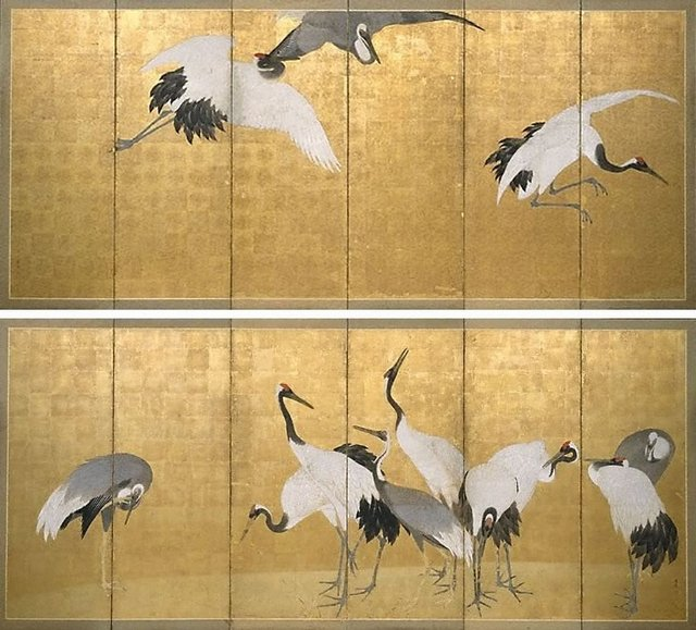 An image of Cranes