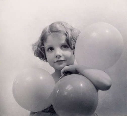 An image of Balloons, Angela by Harold Cazneaux