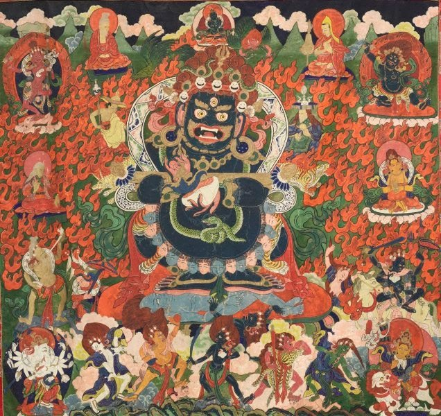 An image of Mahakala