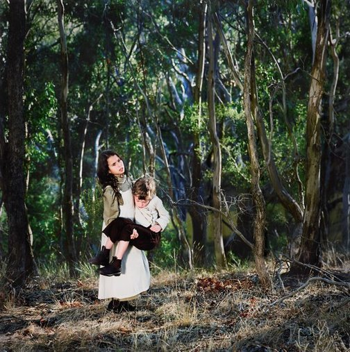 An image of By the Yarra 1857 #2 by Polixeni Papapetrou
