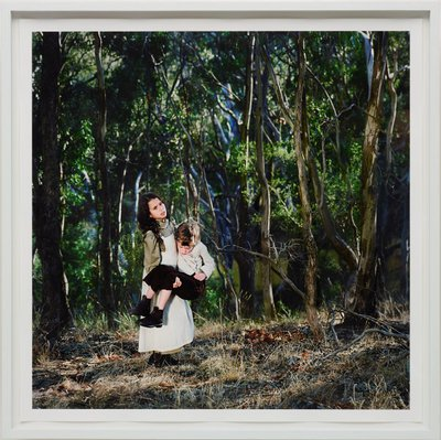 Alternate image of By the Yarra 1857 #2 by Polixeni Papapetrou